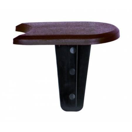 Комплект палісаду Flat, коричневий, 3,8 м