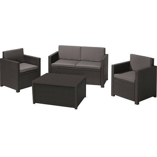 Комплект садових меблів Monaco set, сірий