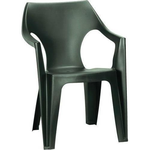 Стілець пластиковий Dante low back, темно - зелений