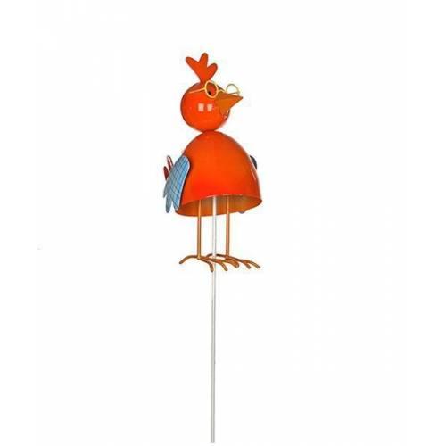 """Фігурка декоративна садова """"Курчата"""", помаранчевий"""