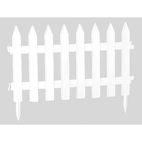 Садова огорожа GRADEN CLASSIC - біла, 3,2 м