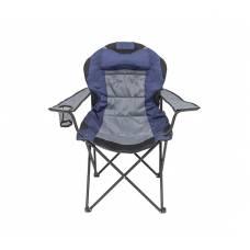 Крісло портативне Рибак Трофей NR-35, синій з сірим