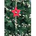 Прикраса декоративна, Підвіска новорічна, Зірка, в ас. 32 см, House of Seasons