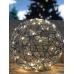 """Куля декоративна срібна, 33 см, 80 led """"Luca Lighting"""""""