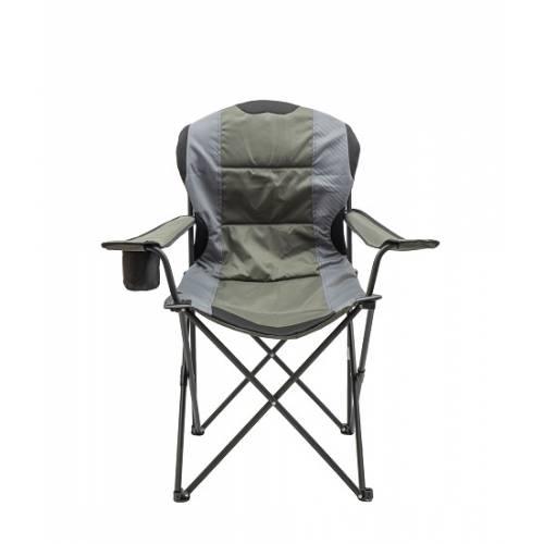 Крісло портативне Турист NR-34 NeRest, сірий з хакі