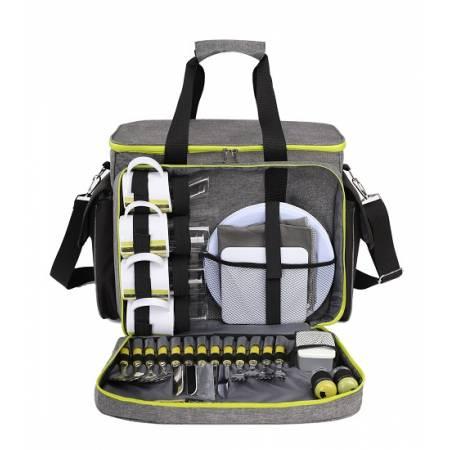 Набір для пікніка TE-430 Picnic, сірий з чорним