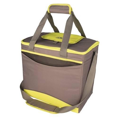 """Ізотермічна сумка """"Collapse & Cool, Sport 36"""", 22 л, коричнева з жовтим"""