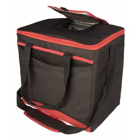 """Ізотермічна сумка """"Collapse & Cool, Sport 36"""", 22 л, чорна з червоним"""