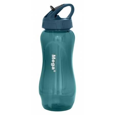 Пляшка спортивна пластикова Tritan 0,65 л, MT065DS, блакитна