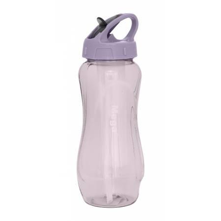 Пляшка спортивна пластикова Tritan 0,65 л, MT065DS, бузкова