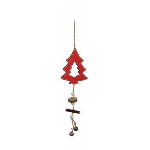 Прикраса декоративна, Підвіска новорічна, Ялинка, в ас.. 32 см, House of Seasons