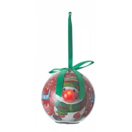 Прикраса декоративна Куля LED, 8 см, House of Seasons, колір зелений