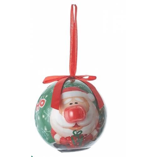 Прикраса декоративна Куля LED, 8 см, House of Seasons, колір червоний