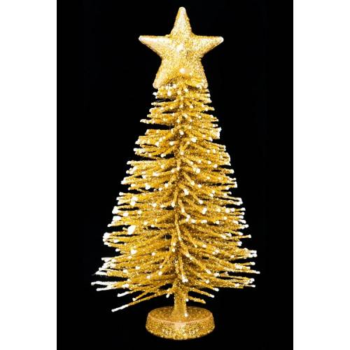 Прикраса декоративна Ялинка в асорт. 12 см, House of Seasons, колір золотистий