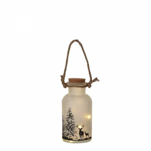 Декоративний ліхтарик з оленями Luca Lighting