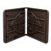 Стіл складаний, 1,22 м., Time Eco ТЕ -1833, коричневий