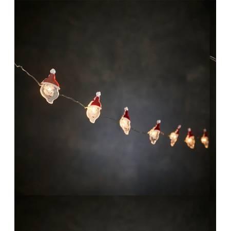 """Гірлянда 1,2 м, """"Струна з фігурками Подарунок"""", """"Luca"""", колір теплий білий"""