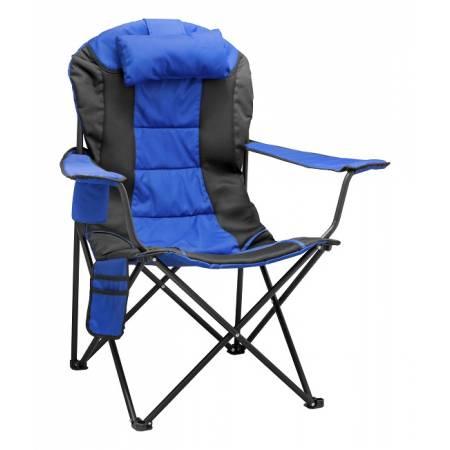 Крісло портативне Рибак Преміум NR-38, синє