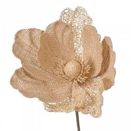 """Декоративна прикраса """"Квітка з джгуту"""", 20 см., Jumi"""