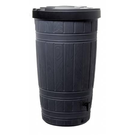 Ємність для збору дощової води Prosperplast Woodcan, 265 л чорна
