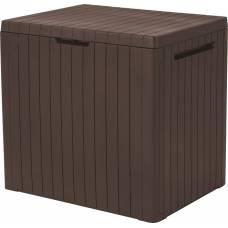 Ящик для хранения City Box 113 л, коричневый