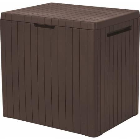 Ящик для зберігання City Box 113 л, коричневий