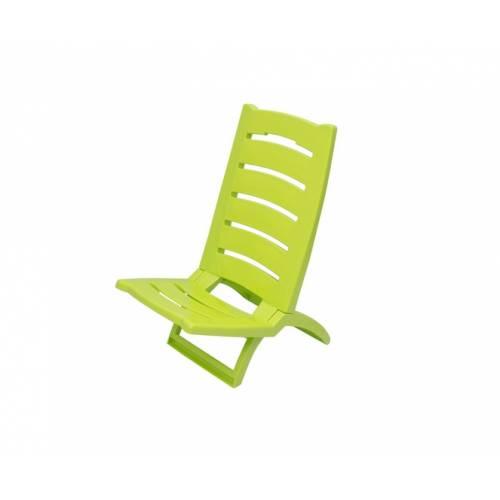 Крісло-шезлонг Adriatic 37.5х65, пластик, салатовий