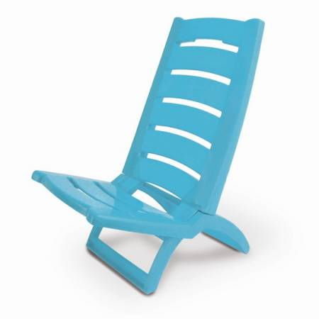 Крісло-шезлонг Adriatic 37.5х65, пластик, блакитний