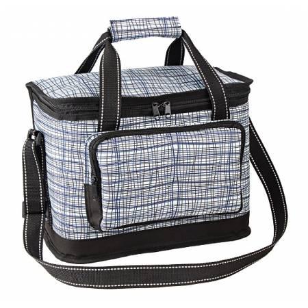Ізотермічна сумка Time Eco TE-3015SX 15л, білий принт смужка