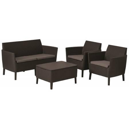 Набір меблів, Salemo set, коричневий