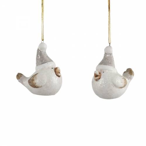 Прикраса декоративна Пташка керамічна 6,5 см, House of Seasons
