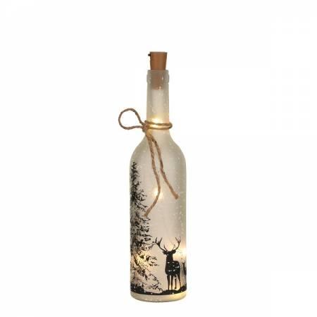 Декоративна пляшка з оленями Luca Lighting