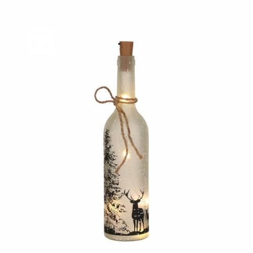 Декоративная бутылка с оленями Luca Lighting