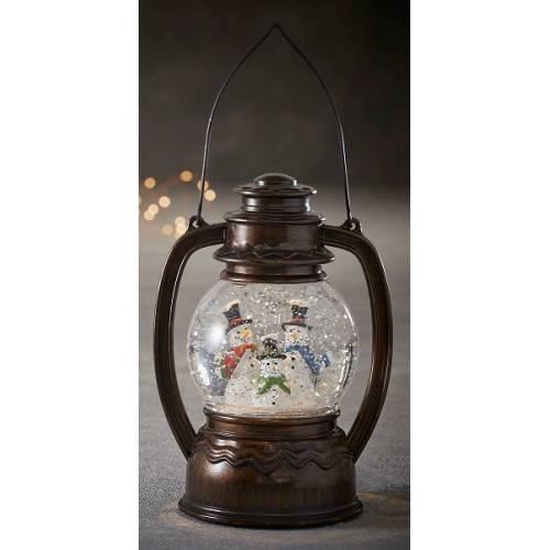 Декоративний ліхтарик в ас., Сніговик,Luca Lighting