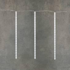 """Гирлянда """"Тающие сосульки"""", """"Luca"""", 12 м, сосульки по 0,5 м, белый"""