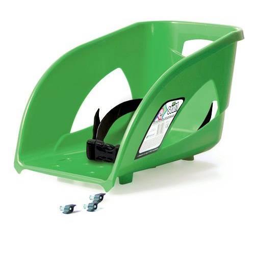 Спинка для санок ISEAT-1 зелена