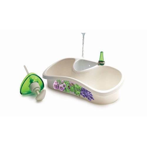 Кухонний аксесуар з ємністю для зберігання та рідкого мила