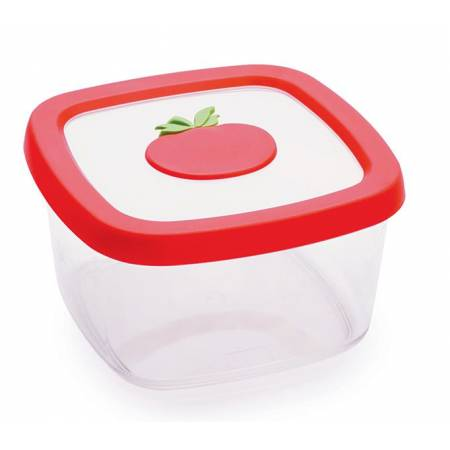 Контейнер для продуктів, 1,0 л, томат