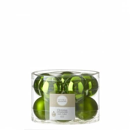 """Елочные шарики 10 шт., """"House of Seasons"""" комплект, цвет зеленый"""