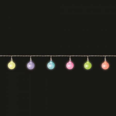 """Гирлянда """"Мультицветные жемчужины"""" 2,2 м"""