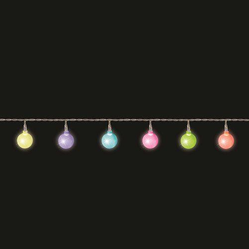 """Гірлянда """"Мультикольорові перлини"""" 2,2 м"""