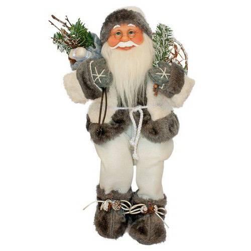 Фігурка новорічна добрий Санта Клаус, 46 см