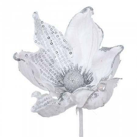 """Декоративное украшение """"Цветок магнолии"""", 23 см., Jumi"""