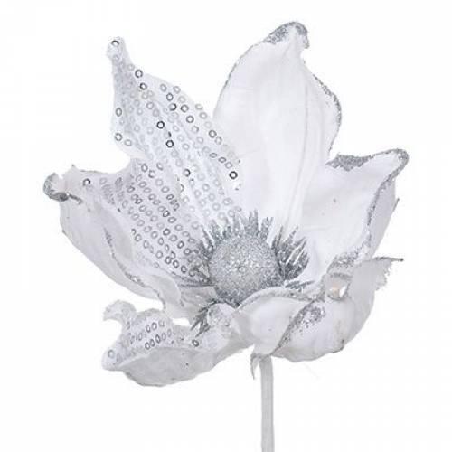 """Декоративна прикраса """"Квітка магнолії"""", 23 см., Jumi"""