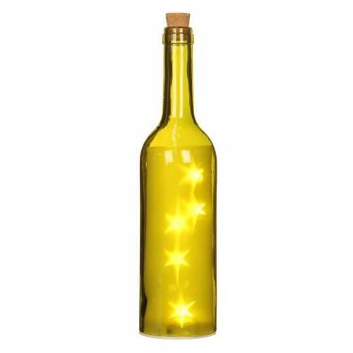 "Декоративна пляшка ""House of Seasons"", колір зелений"