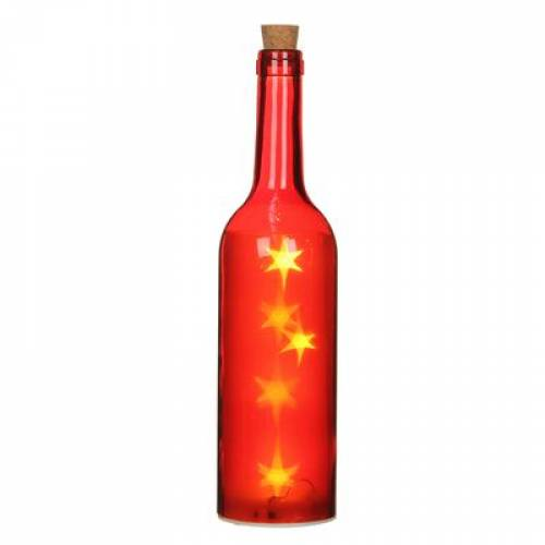 """Декоративна пляшка """"House of Seasons"""", колір червоний"""