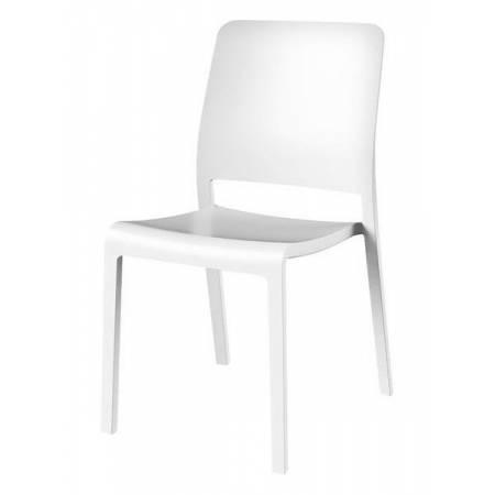 Стілець пластиковий Charlotte Deco Chair, білий