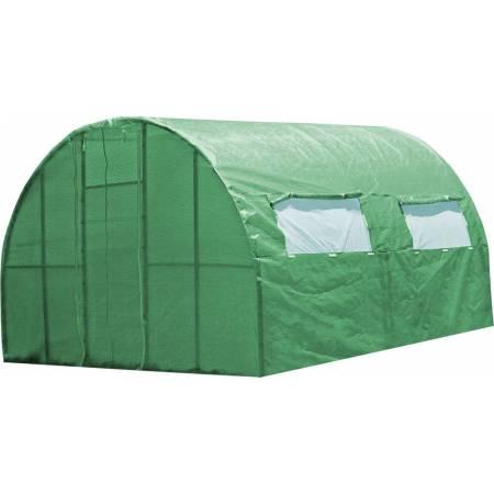 Каркасна теплиця 4 м під плівку або поліматеріал, каркасна, Greenhouse