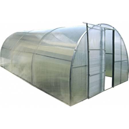 Каркасная теплица 6 м под поликарбонат, каркасная, Greenhouse