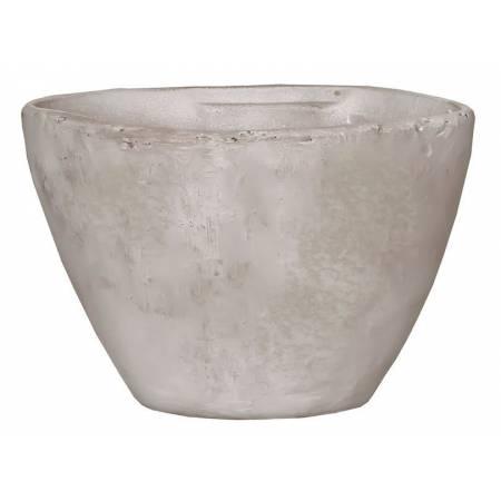 Горщик для квітів 2,1 л. глина, білий